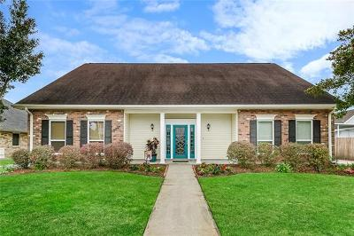 Kenner Single Family Home For Sale: 15 Carlsbad Street