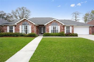 Westwego Single Family Home For Sale: 1232 Barbe Drive