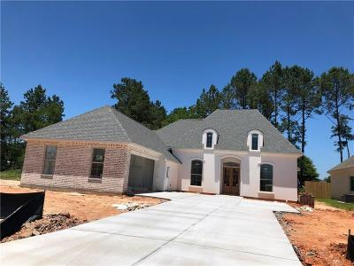 Madisonville Single Family Home For Sale: Lot 30 Sweet Clover Way