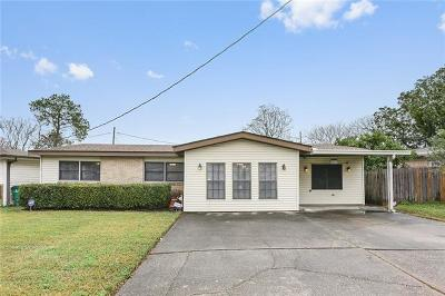 Metairie Single Family Home For Sale: 1913 David Drive