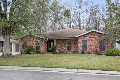 Marrero Single Family Home For Sale: 2637 Elm Lawn Drive