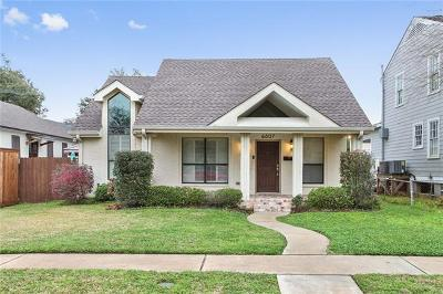 Single Family Home For Sale: 6807 Memphis Street
