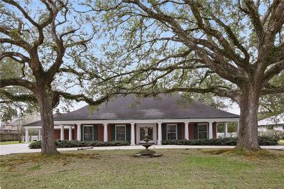 River Ridge, Harahan Single Family Home For Sale: 10006 Idlewood Place