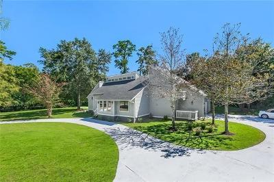 Slidell Single Family Home For Sale: 14 Chamale Drive