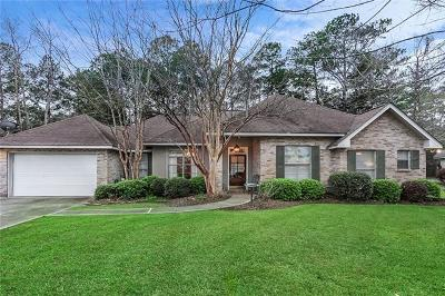 Single Family Home For Sale: 70367 Petit Road