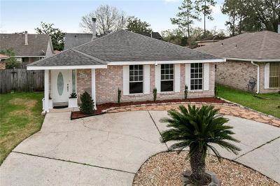 Marrero Single Family Home For Sale: 5315 Woodstream Drive
