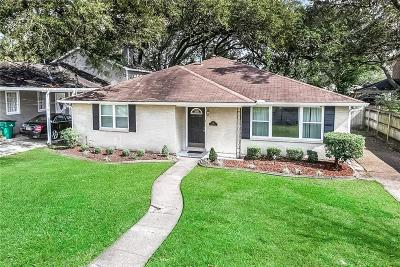 Metairie Single Family Home For Sale: 1013 Helios Avenue