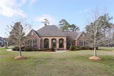 Madisonville Single Family Home For Sale: 352 Red Gum Drive