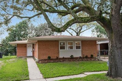 Metairie Single Family Home For Sale: 1208 Francis Avenue