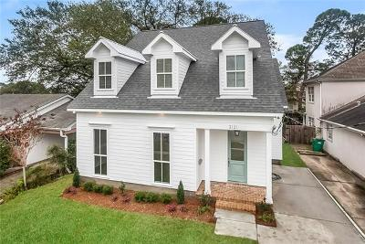 Metairie Single Family Home For Sale: 3120 40th Street