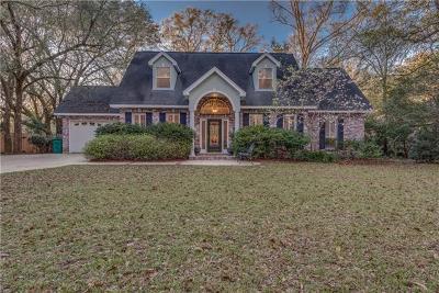 Slidell Single Family Home For Sale: 705 Edgelake Road