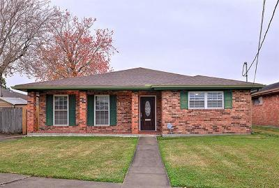 Metairie Single Family Home For Sale: 4845 Ithaca Street