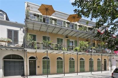 French Quarter Multi Family Home For Sale: 511 Governor Nicholls Street #G