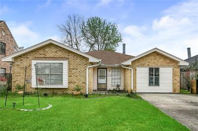 Marrero Single Family Home For Sale: 5109 Oak Bayou Avenue