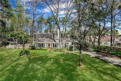 Single Family Home For Sale: 5015 Sharp Road