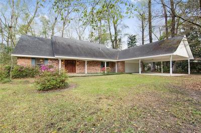 Single Family Home For Sale: 139 Chinchuba Gardens Drive