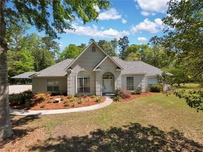 Madisonville Single Family Home For Sale: 198 Silk Lady Lane
