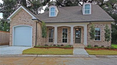 River Ridge, Harahan Single Family Home For Sale: 105 Cutrera Lane