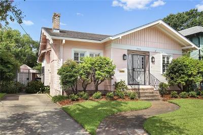 Single Family Home For Sale: 7822 S Claiborne Avenue