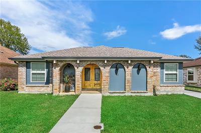 Kenner Single Family Home For Sale: 62 Madrid Avenue