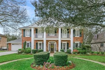 Kenner Single Family Home For Sale: 41 Chateau Palmer Drive