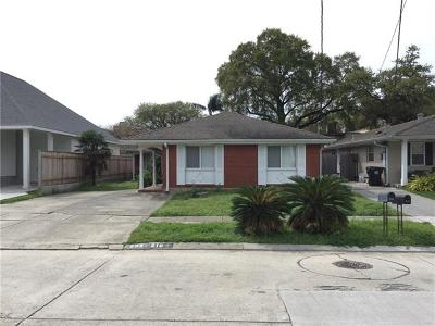 New Orleans Single Family Home For Sale: 208-210 12th Street