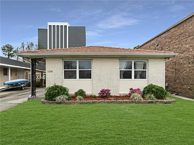 Single Family Home For Sale: 6040 Bellaire Drive