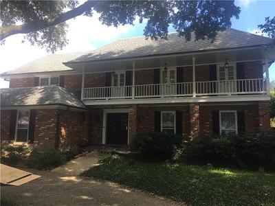Metairie Single Family Home For Sale: 5909 Wheeler Drive