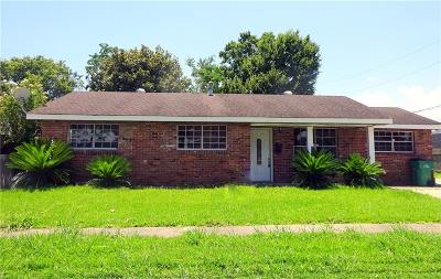 Marrero Single Family Home For Sale: 2000 Bonnie Ann Avenue