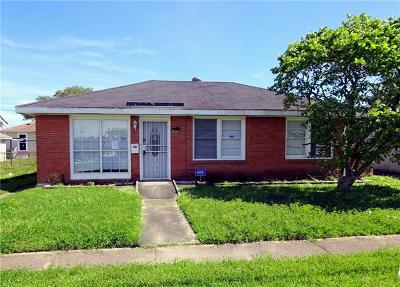 Marrero Single Family Home For Sale: 521 Saint Ann Street