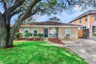 Metairie Single Family Home For Sale: 3908 N Woodlawn Avenue