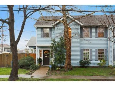 New Orleans Townhouse For Sale: 7331 Hickory Street