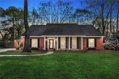 Single Family Home For Sale: 6 Colony Trail Drive