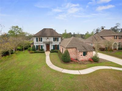 Madisonville Single Family Home For Sale: 456 Pencarrow Circle