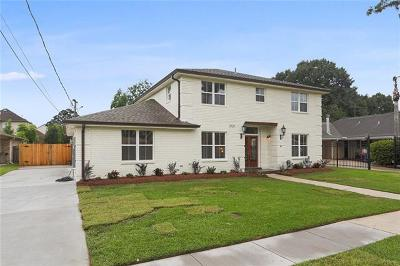 Single Family Home For Sale: 2121 Metairie Court