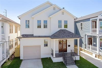 Single Family Home For Sale: 8410 Hickory Street