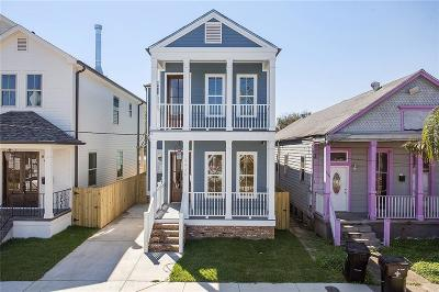 Single Family Home For Sale: 8420 Hickory Street