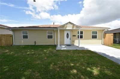 Marrero Single Family Home For Sale: 6640 Rue Louis Phillipe Drive