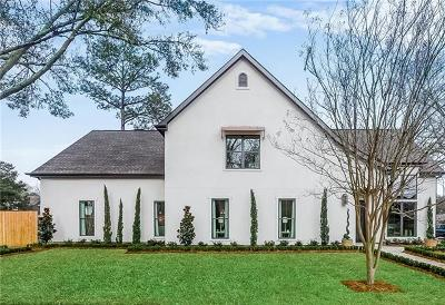 River Ridge, Harahan Single Family Home For Sale: 264 Garden Road