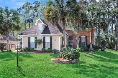 Madisonville Single Family Home For Sale: 100 Indian Trace