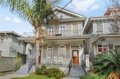 New Orleans Single Family Home For Sale: 4231-33 Palmyra Street
