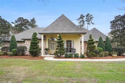 Madisonville Single Family Home For Sale: 500 Royal Palm Court