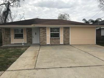 Harvey Single Family Home For Sale: 1116 Pailet Avenue