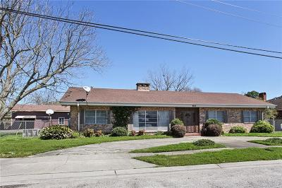 Single Family Home For Sale: 8013 Lafourche Street
