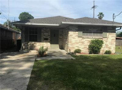 Metairie Single Family Home For Sale: 544 Focis Street