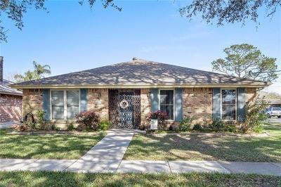 Single Family Home For Sale: 1101 Houma Boulevard