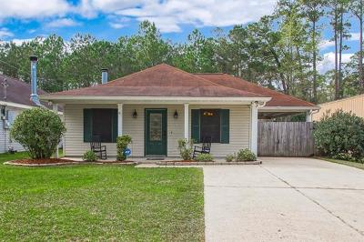 Slidell Single Family Home For Sale: 58401 Holly Drive