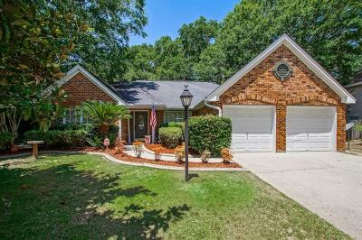 Slidell Single Family Home For Sale: 3608 Meadow Lake Drive