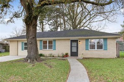 Mereaux, Meraux Single Family Home For Sale: 2208 Cypress Drive