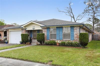 Metairie Single Family Home For Sale: 913 Michigan Avenue